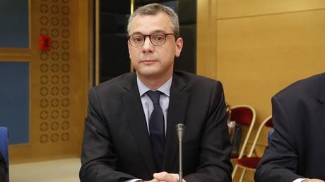Le secrétaire général de l'Elysée, Alexis Kohler, lors de son audition devant le Sénat, le 26 juillet 2018, au palais du Luxembourg, à Paris (image d'illustration).
