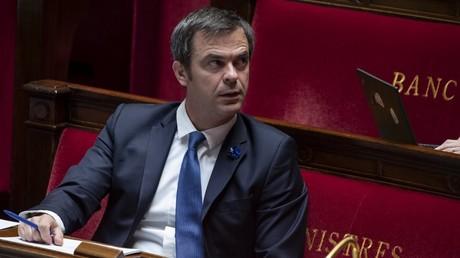 Olivier Véran à l'Assemblée le 8 mai.