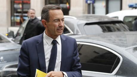 Le sénateur français Bruno Retailleau à Paris le 11 juin 2019.