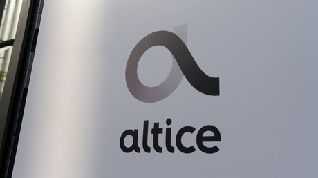 Le logo du groupe Altice (image d'illustration).