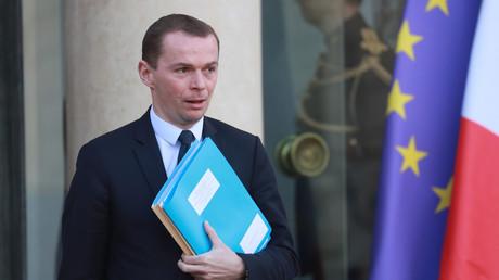 Le secrétaire d'Etat Olivier Dussopt à l'Elysée, le 11 février 2020 (image d'illustration).