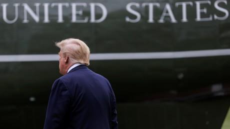 Le président américain Donald Trump le 21 mai 2020 (image d'illustration).