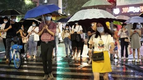 Cliché pris à Shenzhen, le 22mai 2020, dans la région du Guandong, en Chine (image d'illustration).