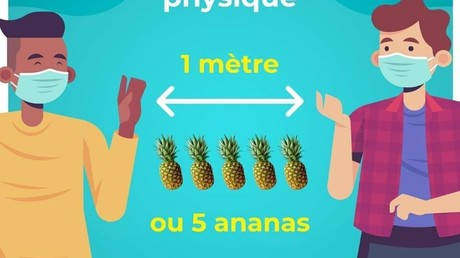 L'affiche mise en ligne le 23mai par le compte officiel du préfet de Martinique.