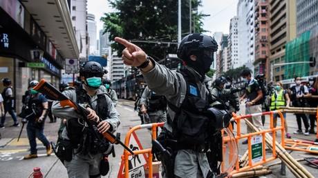 Hong Kong, le 24 mai (Image d'illustration).