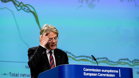 Paolo Gentiloni, commissaire européen aux Affaires économiques et financières, à la Fiscalité et à l'Union douanière est favorable à une taxe sur l'économie digitale si l'OCDE ne statue pas rapidement (illustration).