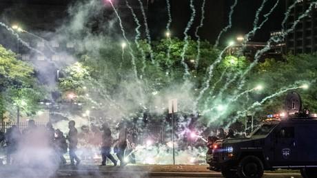 Violences à Detroit dans le Michigan le 31 mai.