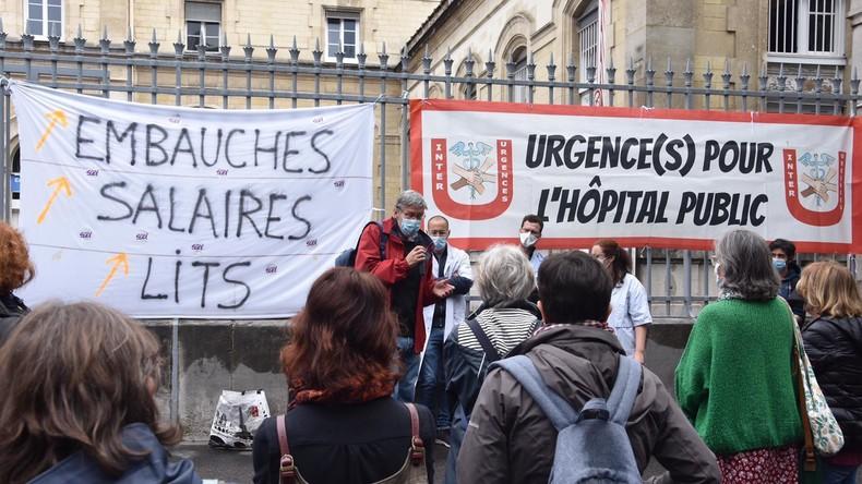 Casserolades et manifestations devant les hôpitaux pour demander plus de moyens