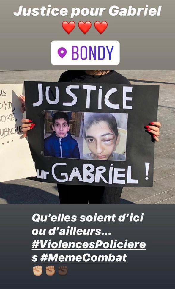 Manifestation à Bondy, après qu'un adolescent a été blessé lors de son interpellation