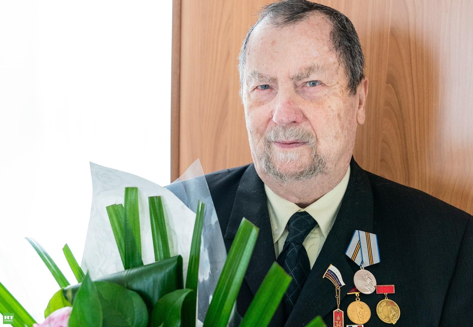Engagé dans la Résistance française à l'âge de 7ans, un vétéran russe a été décoré