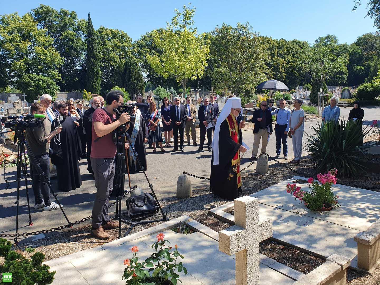La France et la Russie commémorent une Sainte russe de la Résistance française