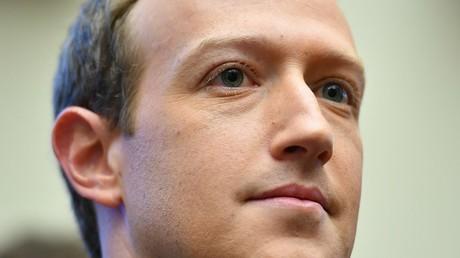 Le fondateur de Facebook Mark Zuckerberg.