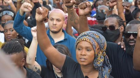 Manifestation pour Adama Traoré, le 2 juin à Paris.