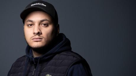 Le journaliste militant Taha Bouhafs, le 21 février 2020, à Paris (image d'illustration).