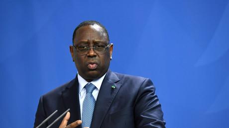 Le président sénégalais Macky Sall.