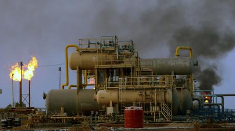 Champ pétrolier de Nahr Bin Umar près de Bassorah, dans le sud de l'Irak, le 16septembre 2019 (image d'illustration).
