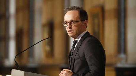 Le ministre allemand des Affaires étrangères Heiko Mass en Angleterre, le 12 avril 2018 (image d'illustration).