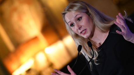 L'ancienne députée du Rassemblement national, Marion Maréchal, le 4 février 2020, à Rome, en Italie (image d'illustration).