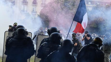 Lors de la manifestation du 16 juin, quelques violences sporadiques ont éclaté, occasionnant une prompte réaction des forces de l'ordre (image d'illustration).