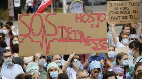 Manifestation des soignants à Strasbourg le 16 juin 2020 (image d'illustration).