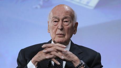 L'ancien président de la République Valery Giscard d'Estaing.