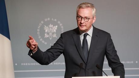 Le ministre français de l'Economie et des Finances, Bruno Le Maire, lors d'une conférence de presse le 10 juin 2020 à Paris (illustration).