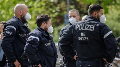 Policiers allemands. (Image d'illustration).