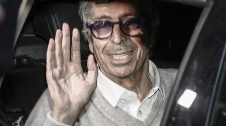 Patrick Balkany lors de sa libération en février 2020 (image d'illustration).