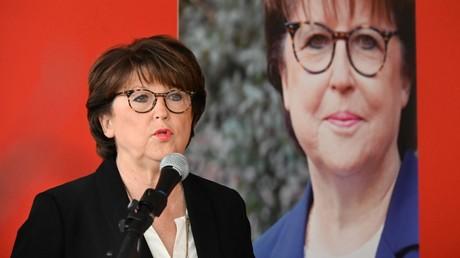 Martine Aubry lors d'une conférence de presse à Lille, le 1er février 2020. (Image d'illustration).