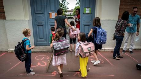 Ecole élémentaire Jules-Julien à Toulouse (Haute-Garonne), le 22 juin 2020.