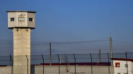 Vue extérieure de la prison de Vendin-le-Vieil, dans le nord de la France (image d'illustration).