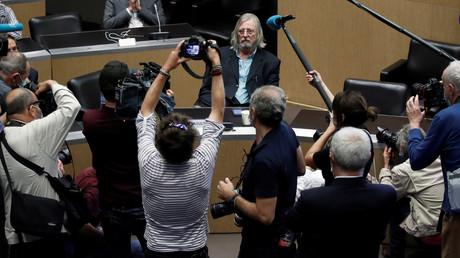 Le professeur Didier Raoult à son arrivée pour pour une audience à l'Assemblée nationale à Paris, France, 24 juin 2020 (image d'illustration).