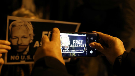 Affiche Free Assange (image d'illustration).