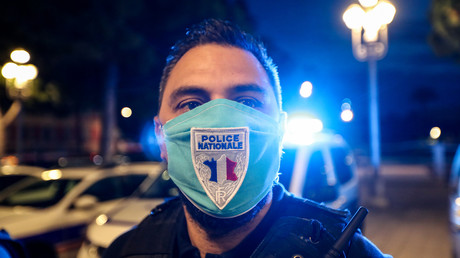 Rassemblement nocturne de policiers en colère à Nice le 11 juin 2020 (image d'illustration).