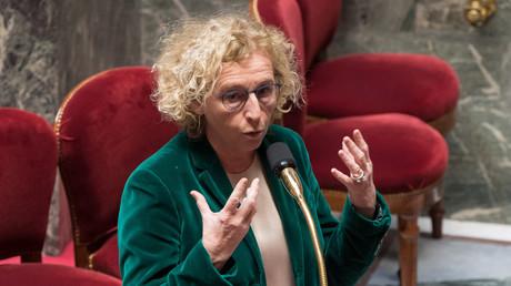 La ministre française du Travail, Muriel Pénicaud, ici photographiée à l'Assemblée nationale, a constaté de nombreuses fraudes au chômage partiel (illustration).