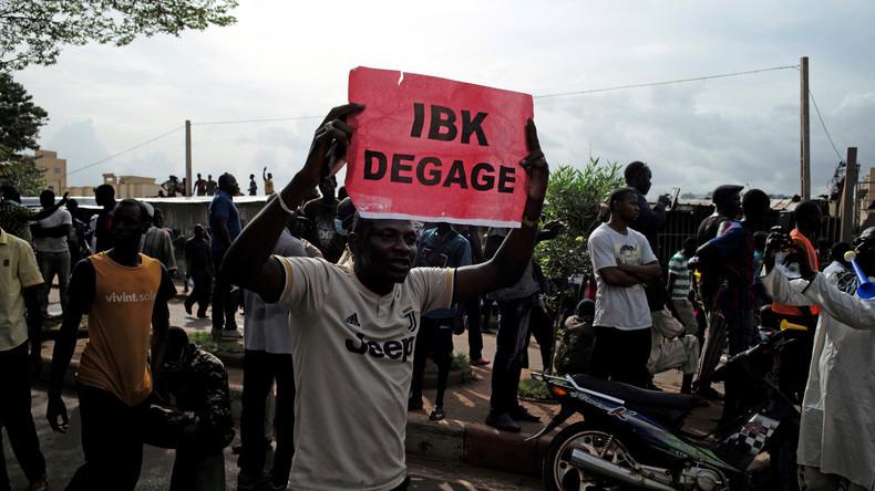Mali : un mort lors de la manifestation contre le président Ibrahim Keïta