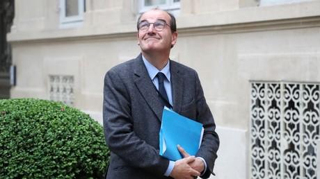 Le nouveau Premier ministre français, Jean Castex, le 29 avril 2020, au ministère de l'Intérieur, à Paris (image d'illustration).