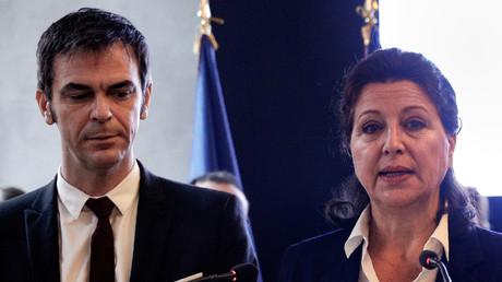 Les deux anciens ministres de la Santé, Olivier Véran et Agnès Buzyn.