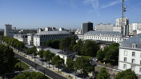 Une vue générale du siège de la Direction générale de la sécurité extérieure (DGSE) à Paris le 4 juin 2015 (image d'illustration).
