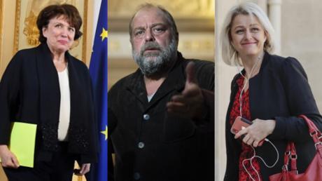 Roselyne Bachelot, Eric Dupond-Moretti et Barbara Pompili on fait leur entrée au gouvernement.