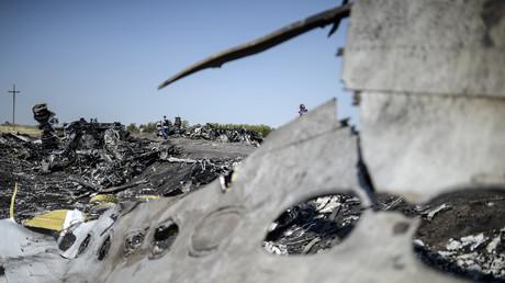 Photo prise en août 2014 sur le site du crash de l'avion du vol MH17 en Ukraine (image d'illustration).