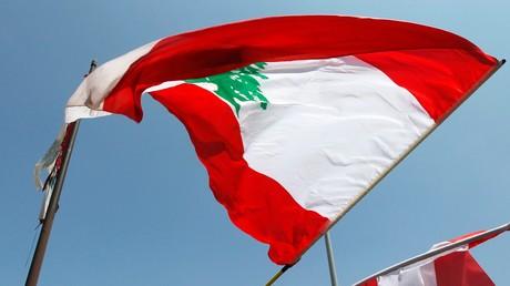 Un drapeau libanais (image d'illustration)