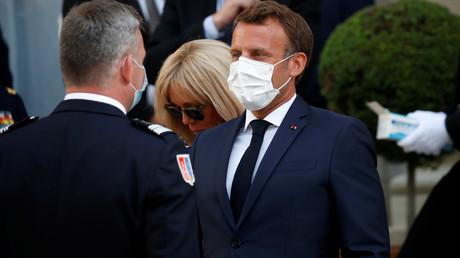 Emmanuel Macron, le 13 juillet 2020, à l'hôtel de Brienne, à Paris (image d'illustration).