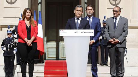 Passation de pouvoir place Beauvau le 7 juillet, Paris (image d'illustration).