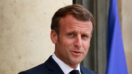 Emmanuel Macron le 15 juillet 2020 (image d'illustation).