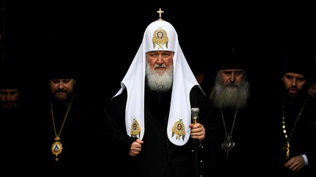 Le patriarche de l'Eglise orthodoxe russe Kirill (image d'illustration).