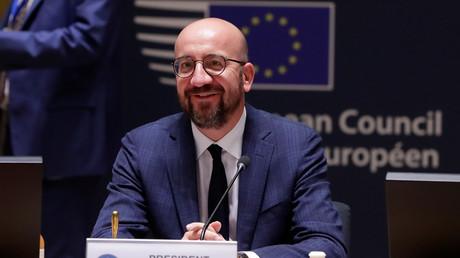 Le président du Conseil européen Charles Michel, lors du sommet européen le 21 juillet, à Bruxelles.