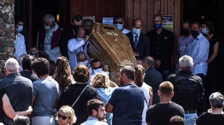 Les obsèques de Philippe Monguillot, le 20 juillet.