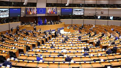 Le Parlement européen à Bruxelles, le 8 juillet 2020 (image d'illustration).
