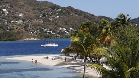 Plage de Sainte-Anne sur l'île de la Martinique, le 14 mars 2013 (image d'illustration).